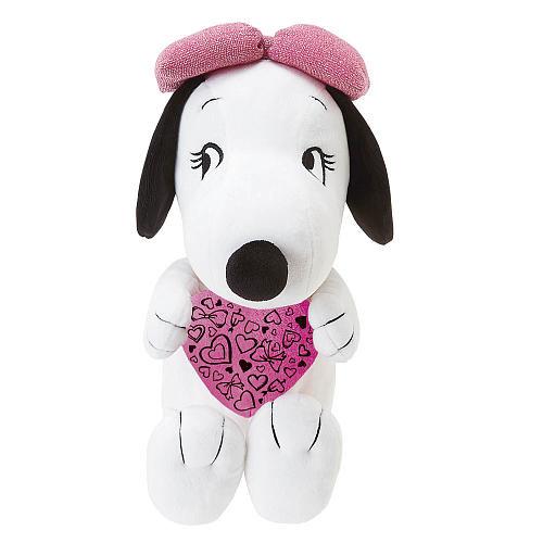Schulz Peanuts 10 inch Heart Belle Plush