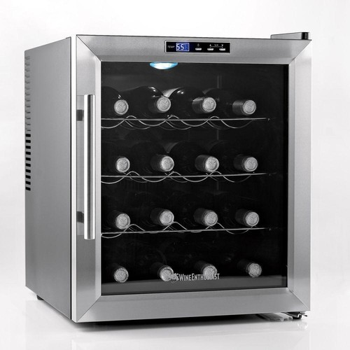 Wine Enthusiast 16-Bottle Silent Wine Cooler