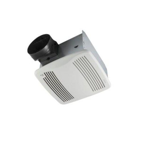 NuTone QTXEN Series Very Quiet 110 CFM Ceiling Humidity Sensing Bathroom Exhaust Fan, ENERGY STAR Qualified