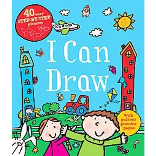 I Can Draw: 40 Easy Step-by-Step Pictures (Paperback)