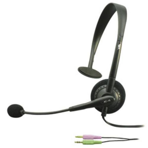 Cyber Acoustics AC-16 Mono Headset