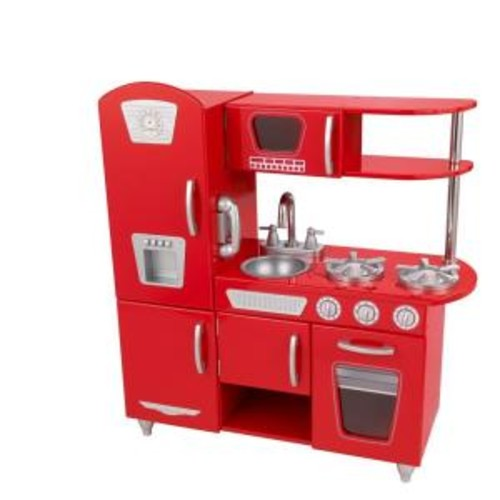 KidKraft Red Vintage Kitchen Playset
