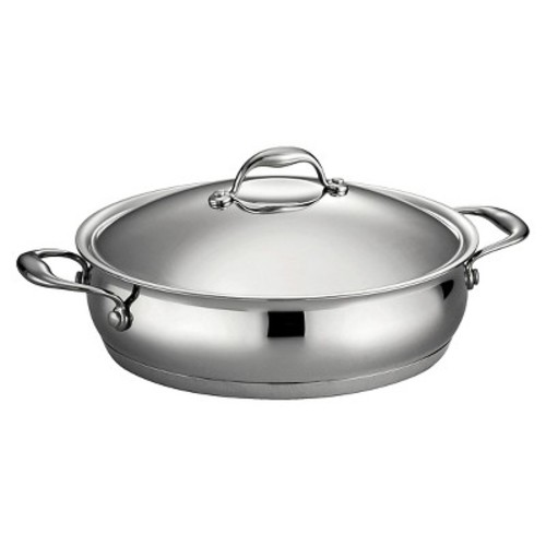 Tramontina Gourmet Domus Stainless Steel 5 Qt Covered Braiser