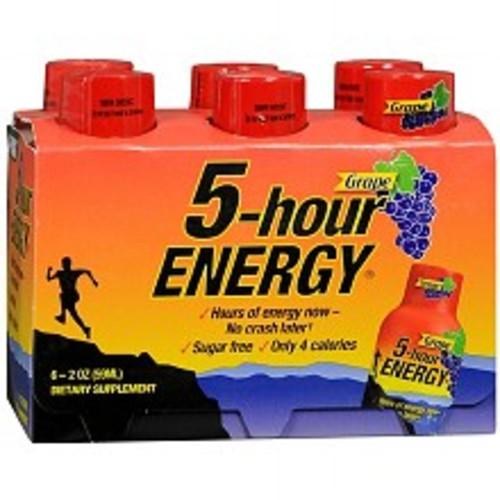 5-Hour Energy Dietary Supplement Shot Grape