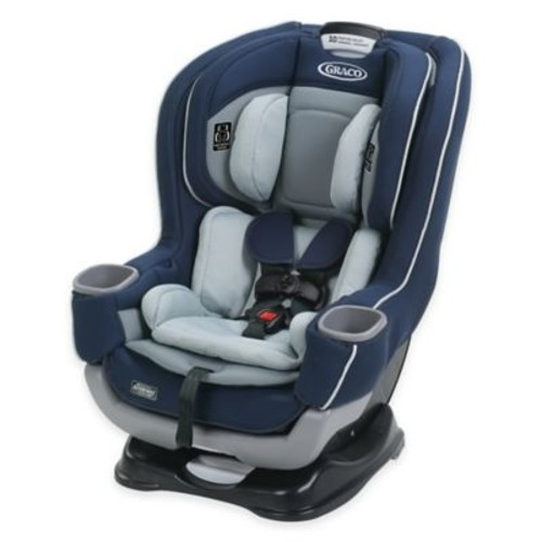 Graco Extend2Fit Convertible Car Seat with RapidRemove Cover in Cadet