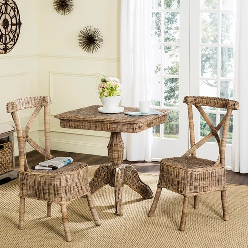 Safavieh Katell Wicker Dining Chair 2-piece Set