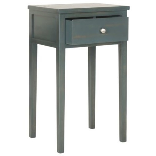 Safavieh Abel End Table in Dark Teal
