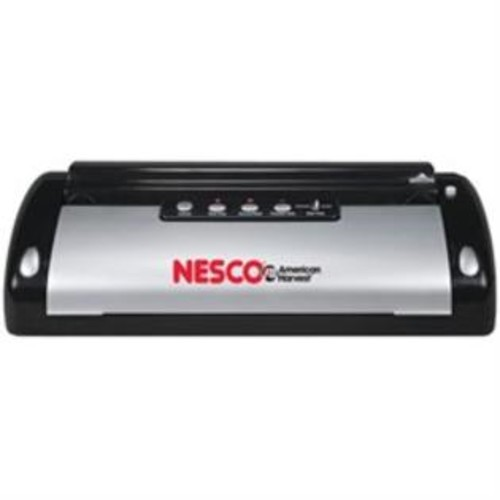 Nesco 130 Watt, Black Silver Food Sealer w/Bag Cutter (VS02)