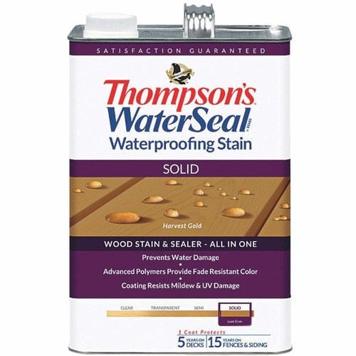 Thompson's WaterSeal Thompsons WaterSeal Solid Waterproofing Stain - TH-043811-16