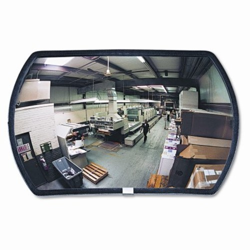 See-All Industries 160 Degree Convex Security Mirror, 18'' W X 12'' H