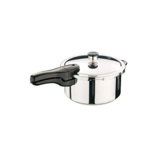 Presto 4 qt. Polished Stainless Steel Pressure Cooker-Mfg# 01341
