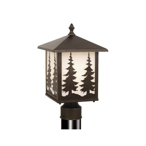 Vaxcel OP33485BBZ Yosemite 8-Inch Outdoor Post Light, Burnished Bronze [Bronze]