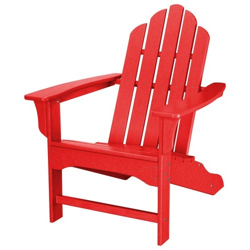 Hanover - All-Weather Adirondack Chair - Sunset Red