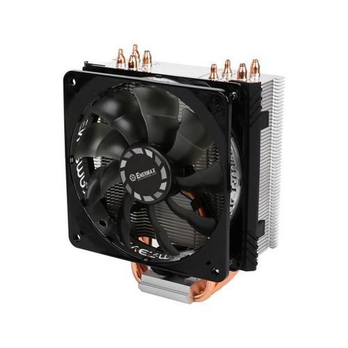 ENERMAX ETS-T40F-TB 120mm Twister Aluminum 120mm CPU Cooler with PWM Fan Low 8 dBA nosie w/ fan adaptor