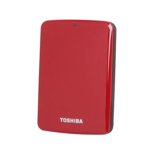 TOSHIBA 1TB Canvio Connect External Hard Drive USB 3.0 Model HDTC710XR3A1 Red