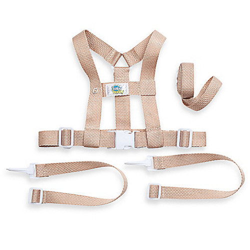 Deluxe Security Harness in Tan