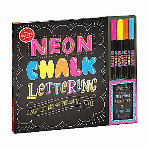 Klutz Neon Chalk Lettering