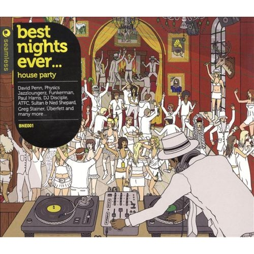 Best Nights Ever... House Party [CD]