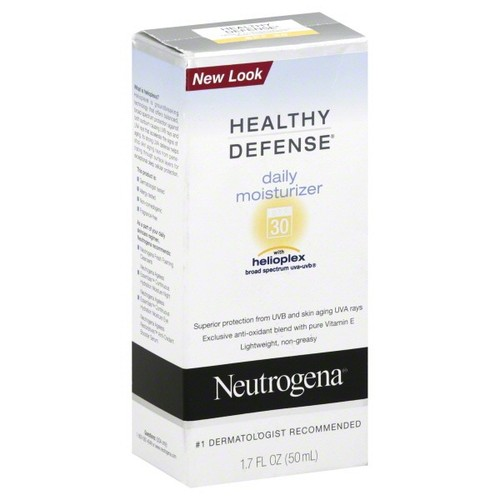 Neutrogena Healthy Defense Moisturizer, Daily, 1.7 fl oz (50 ml)