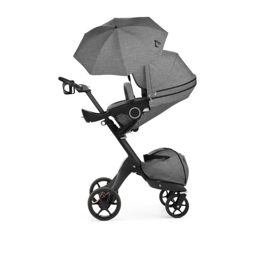 Xplory Chassis with Complete Stroller Seat, Parasol & Cupholder