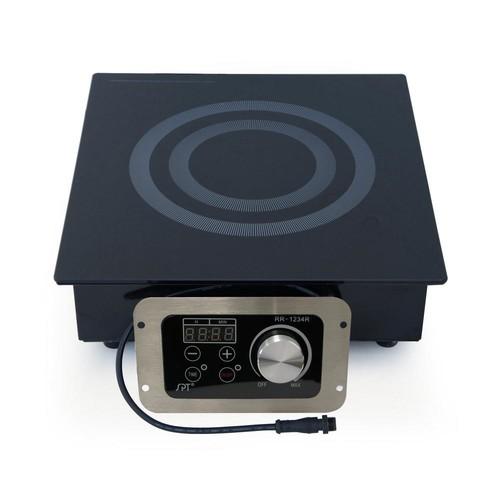SPT 12.5 in. Built-In Radiant Electric Cooktop in Black
