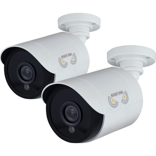 Night Owl Add - On 1080p HD Wired Security Bullet Cameras (2 Pack)