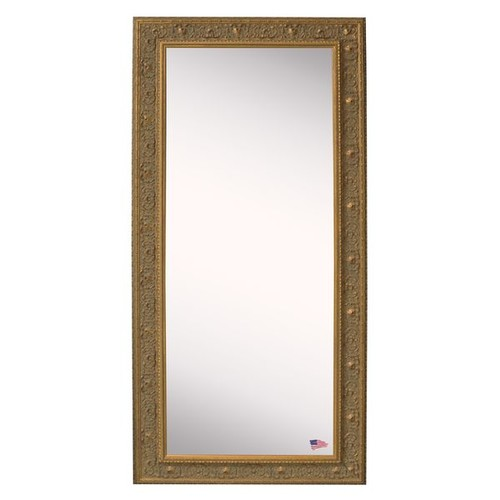American Made Rayne Opulent Gold Floor Mirror