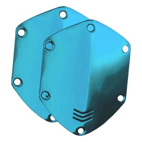 V-Moda On-Ear Custom Metal Shield Kit for Crossfade Headphones, Ocean Blue