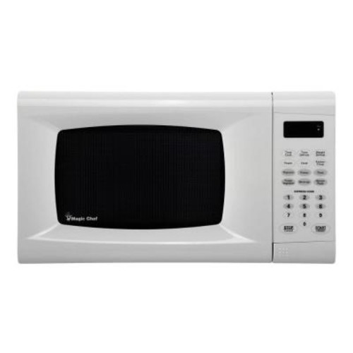 73092 0.9 Cu. Ft. Countertop Microwave White 73092