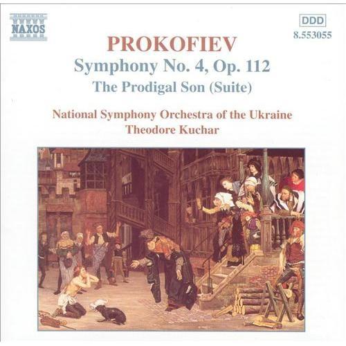 Prokofiev: Prodigal Son; Symphony No. 4 [CD]