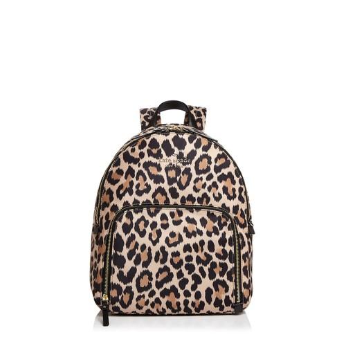Watson Lane Hartley Leopard Print Nylon Backpack