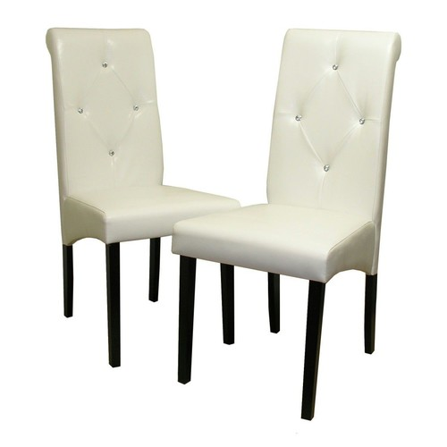 Warehouse of Tiffany Classic White Chair (Set of 8 pcs.)