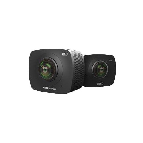 Kaiser Baas - 360 Degree Action Camera - Black