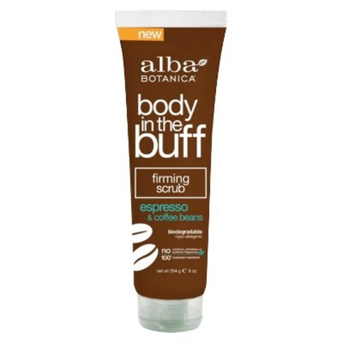 Alba Firming Scrub Body in the Buff Espresso & Coffee Beans 9oz
