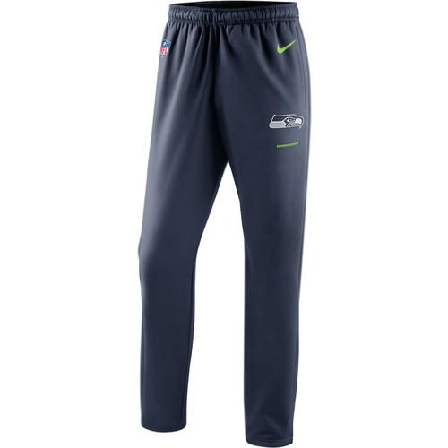 Nike Men's Seattle Seahawks Therma-FIT Navy Performance Pants