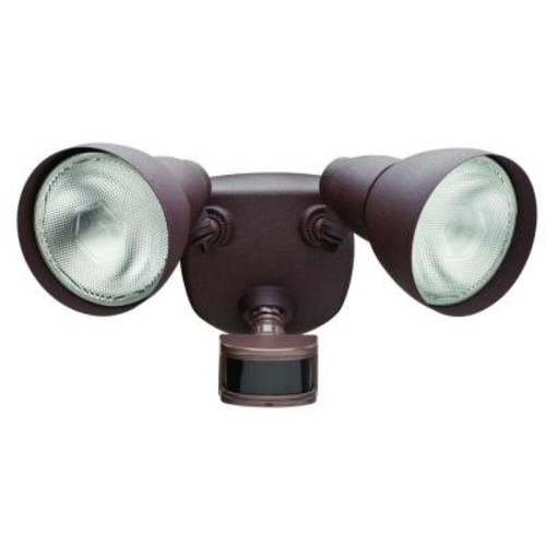 Defiant 270 Rust Motion Outdoor Security Light