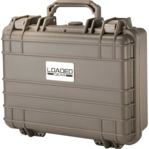 BARSKA Loaded Gear 13 in. HD-200 Hard Case, Beige