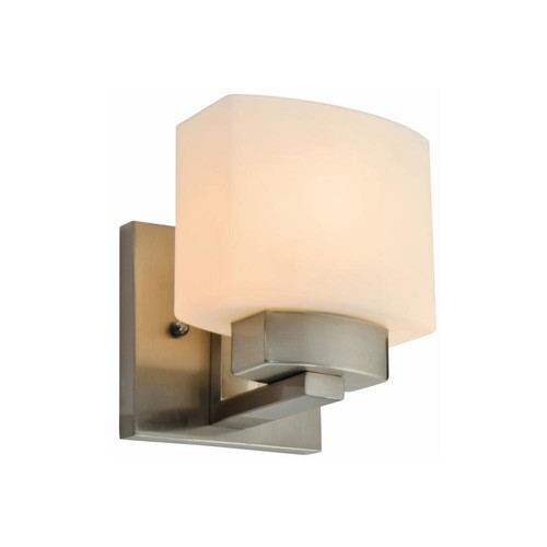 Design House Dove Creek 1-Light Satin Nickel Wall Sconce