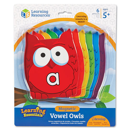 Learning Resources Magnetic Vowel Owls