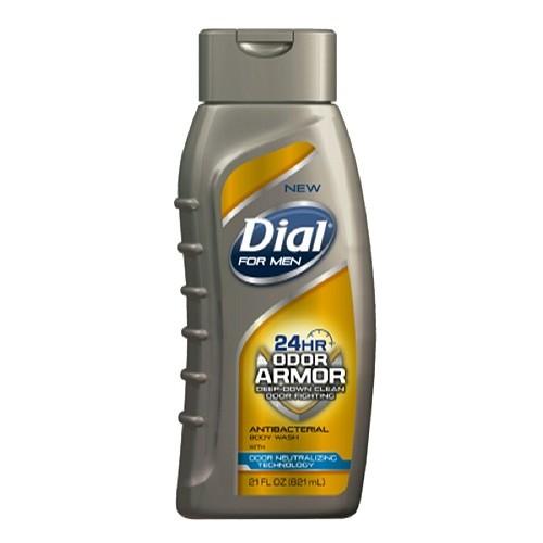 Dial for Men Antibacterial Body Wash, 24 Hour Odor Armor