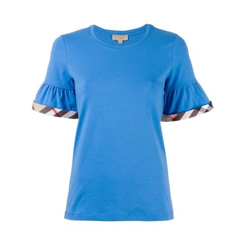 BURBERRY Peplum Sleeve T-Shirt