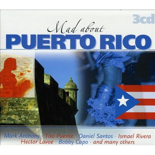 Mad About Puerto Rico [CD]