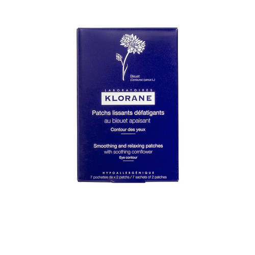 Klorane Smoothing and Relaxing Patches with Soothing Cornflower in