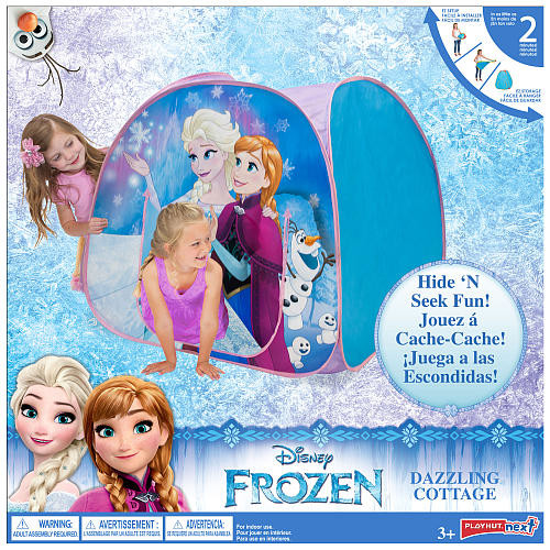 Disney Frozen Dazzling Cottage Play Tent