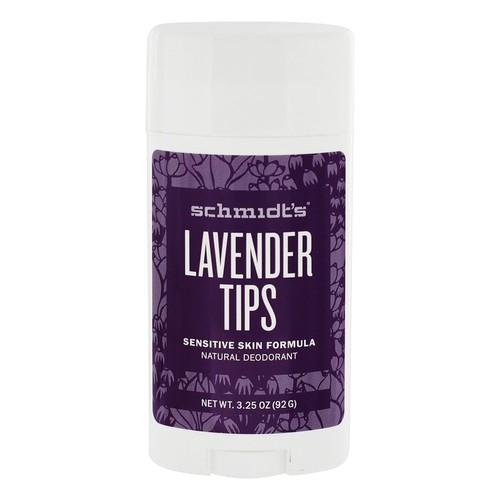 Natural Deodorant Sensitive Skin Formula Lavender Tips - 3.25 oz.