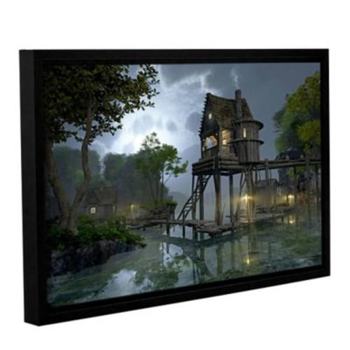 ArtWall Stillwater by Cynthia Decker Framed Photographic Print on Wrapped Canvas; 12'' H x 18'' W