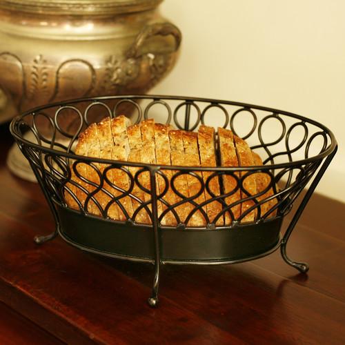 Mesa International Pasha Collection Oval Bread Basket