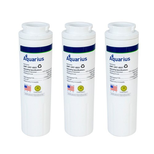 Swift Green Filters Maytag UKF-8001 Replacement Refrigerator Water Filter (3-Pack)