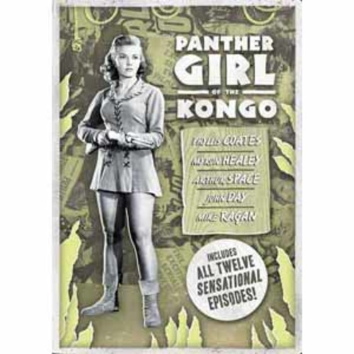 Panther Girl Of The Kong OLV1319DVD