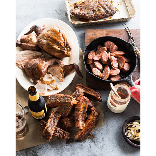 Texas Meat Sampler, For 10-12 People